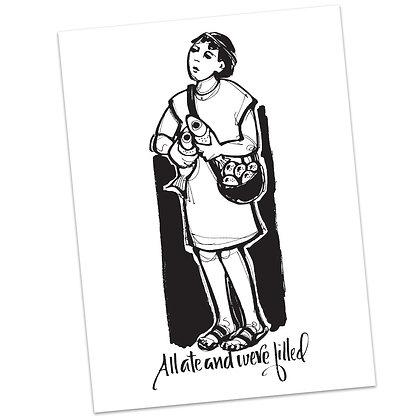 Matthew 15 by Sally Beck