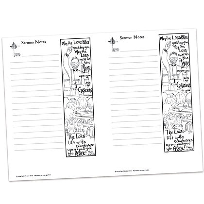 Sermon Notes - Numbers 6:24-26