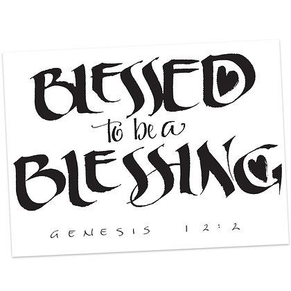 Genesis 12:2 by Sally Beck