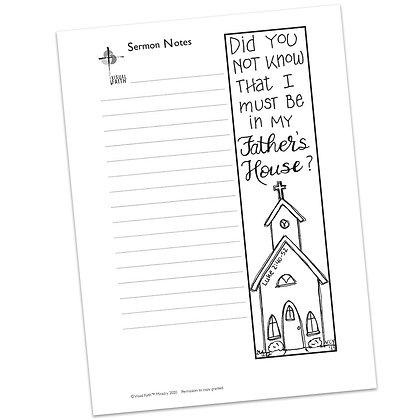 Sermon Notes HS - Luke 2:40-52 (vs1)