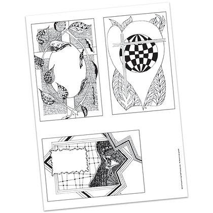 Versicles #15 Blank by Carla Kramer