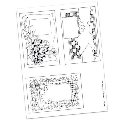 Versicles #10 Blank by Carla Kramer