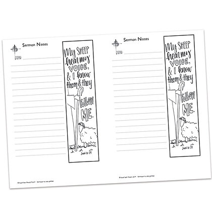 Sermon Notes - John 10:29