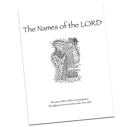 The Names of the Lord by Carla Kramer