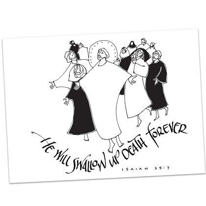Isaiah 25:7 by Sally Beck