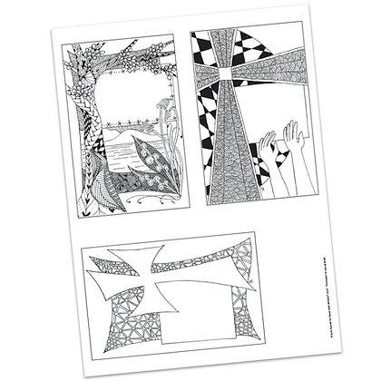 Versicles #4 Blank by Carla Kramer