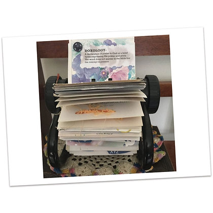 Family Faith File - Rolodex Size