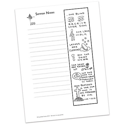 Sermon Notes HS - Luke 7:22-23