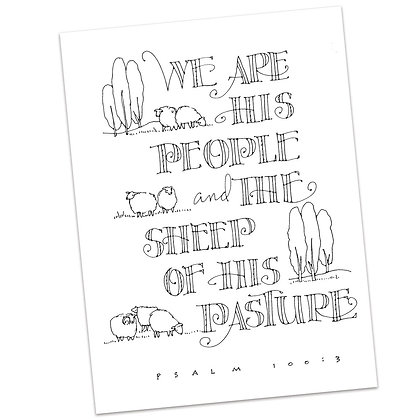 Psalm 110:3 by Sally Beck