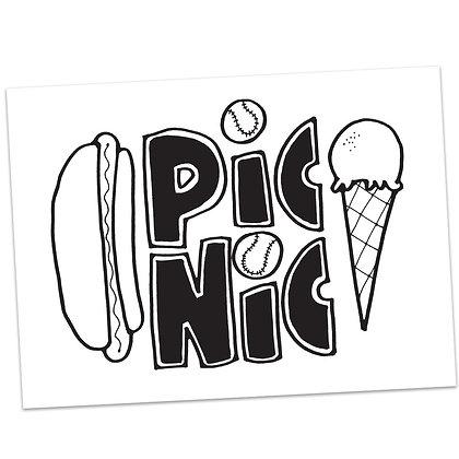 Picnic (vs2) by Sally Beck