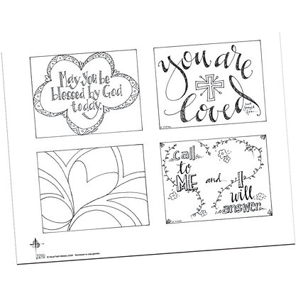 Prayer Postcards Set 1 by Pat Maier