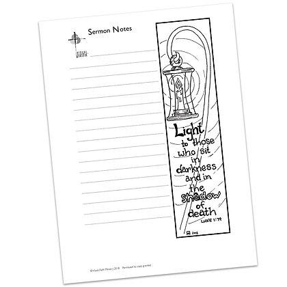 Sermon Notes HS - Luke 1:79
