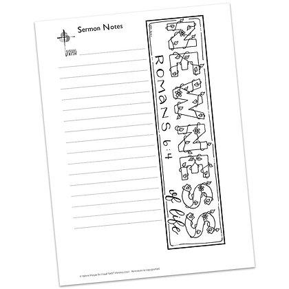 Sermon Notes HS - Romans 6:4