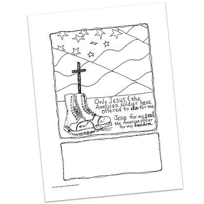 Memorial Day Prayer Spaces by Laurel Livingston