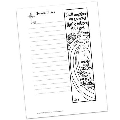 Sermon Notes HS - Mark 6:51