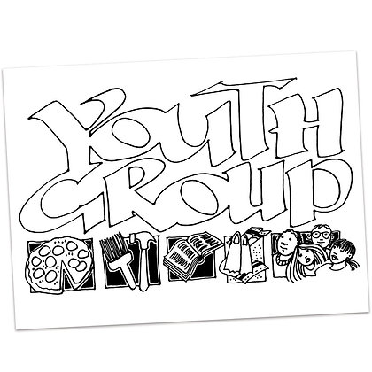 Youth Group by Sally Beck