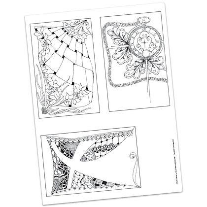 Versicles #12 Blank by Carla Kramer