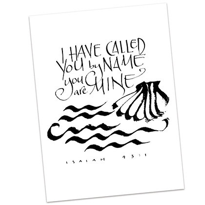 Isaiah 43:1 by Sally Beck