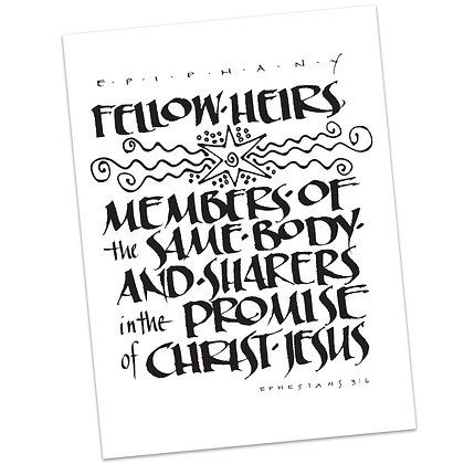 Ephesians 3:6 by Sally Beck