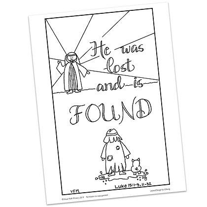 Luke 15:1-3 HS by Ann Gillaspie