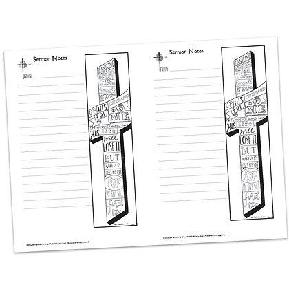 Sermon Notes - Matthew 16:24-25