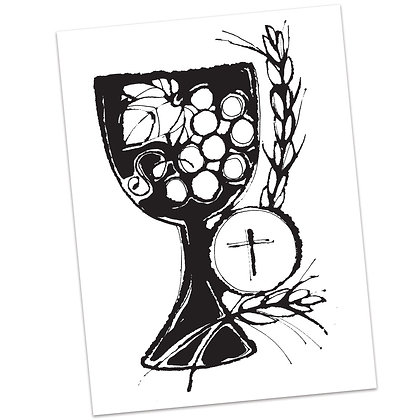 Eucharist (vs2) by Sally Beck