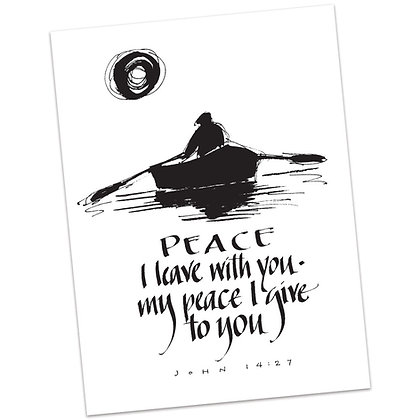 John 14:27 by Sally Beck
