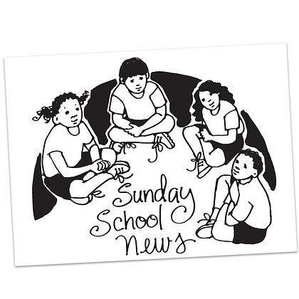 Sunday School (vs3) by Sally Beck
