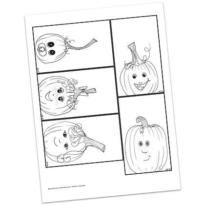 Pumpkin Patch Prayers by Valerie Matyas
