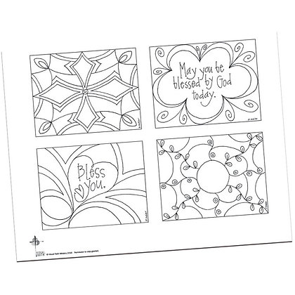 Prayer Postcards Set 2 by Pat Maier
