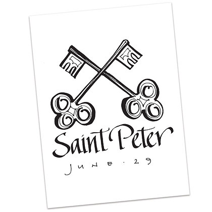 St. Peter by Sally Beck