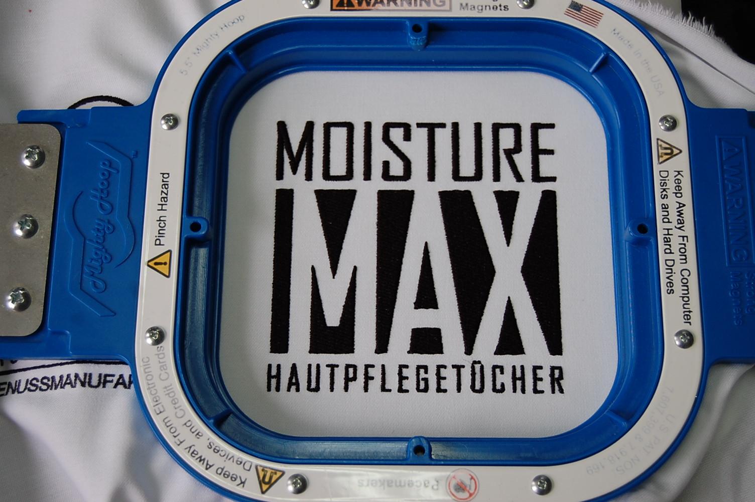 Moisture Max, Logostick