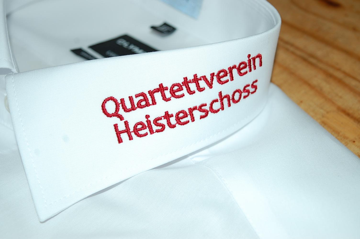Kragenstick Quartettverein