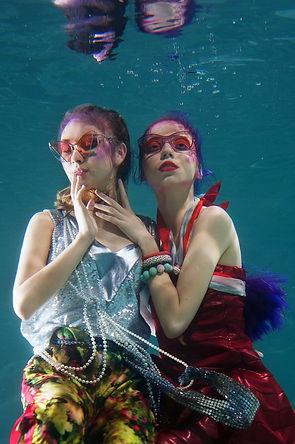 Макияж под водой