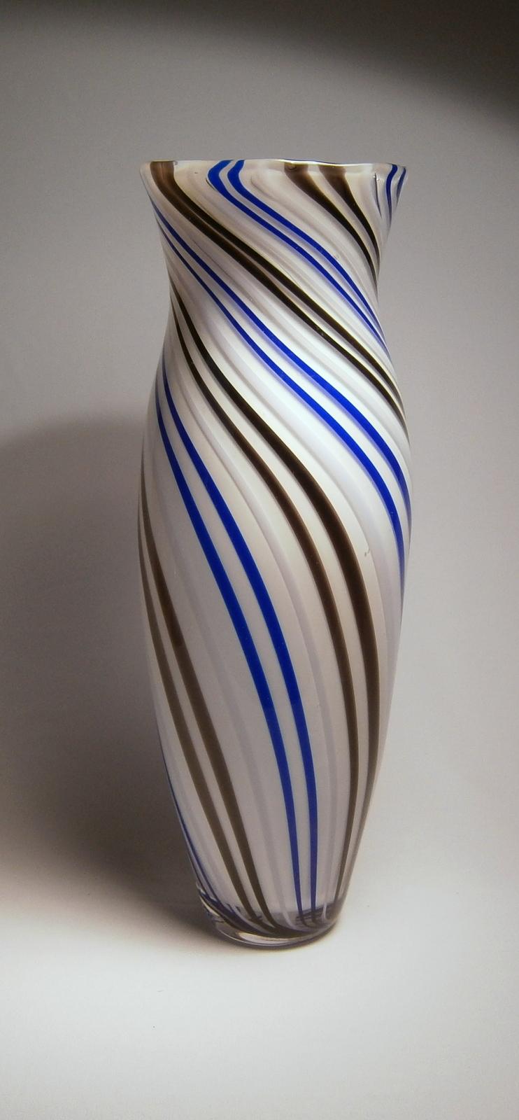 Striped Cane Vase (101)