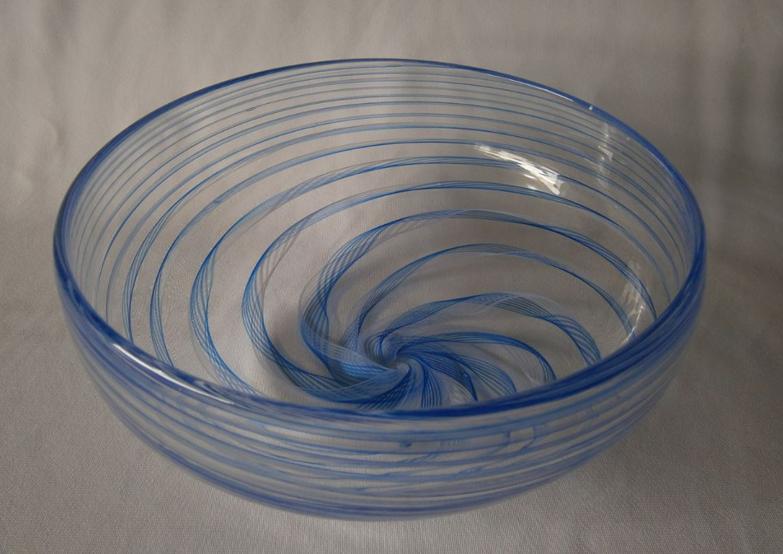 Blue Cane Bowl (9131)