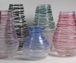 Spun Vases