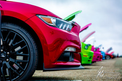 2018 Mustangs On The Wharf Event