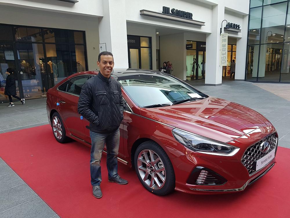 Visiting Korea. Dominican Rep. Korean Car Importing.