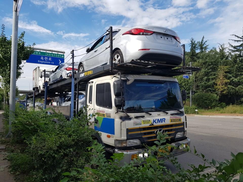 shipping day. EUKOR. Pyungtaek, corea-auto.com