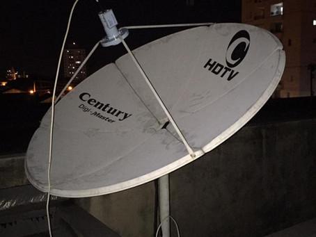 O que você precisa saber para fazer um apontamento para recepção de satélite