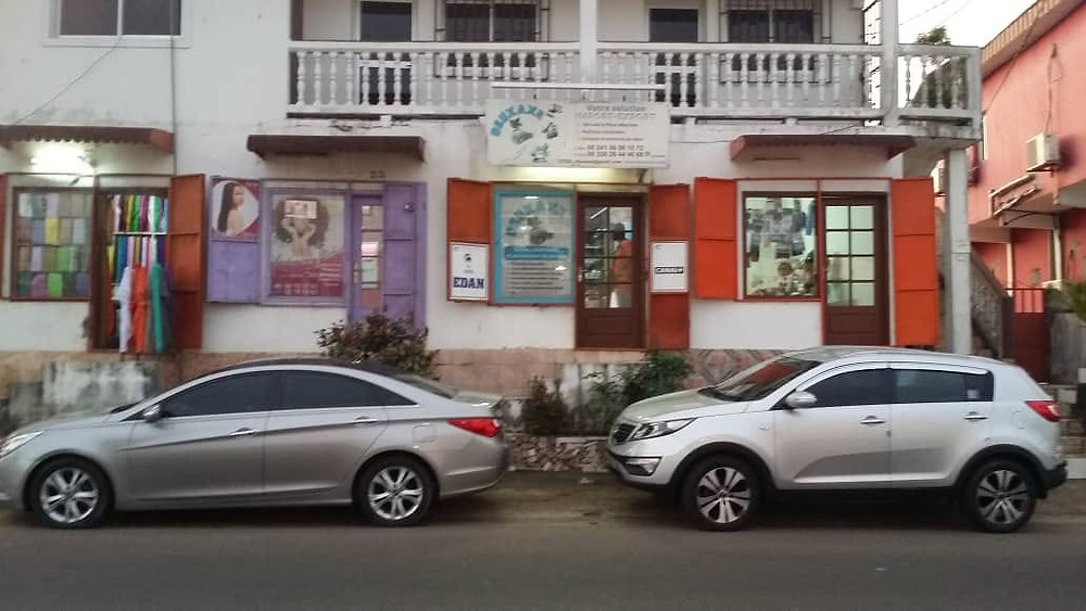 Korean used car in Gabon
