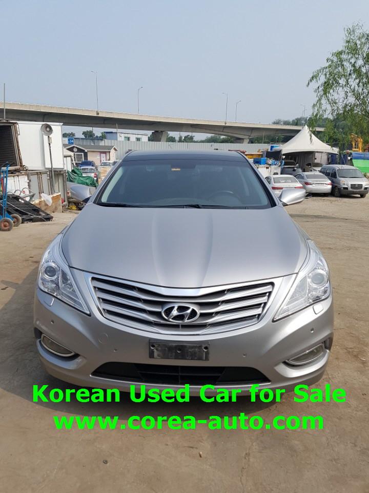 azera, Hyundai used car, front