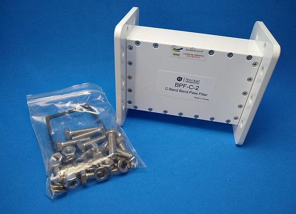 Filtro Banda C  Norsat BPF-C-2 - 3.625 a 4.2 GHz