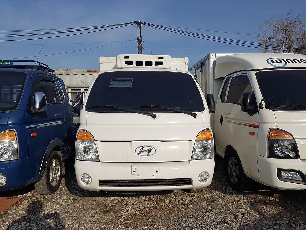 Hyundai Porter Freezer, Honduras, Nicaragua
