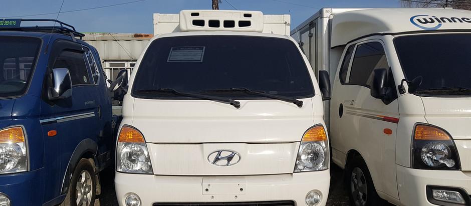 Hyundai Porter Freezer, Honduras, Nicaragua from Korea