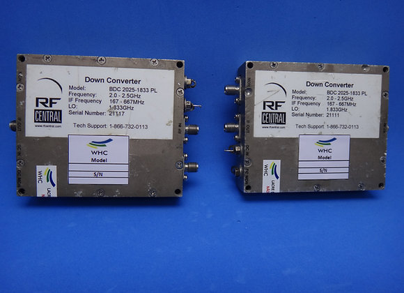 Block Down Converter RF Central BDC 2025-1833