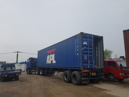 Korean used car exporter | 3 units to Gabon from South Korea by 40feet container.