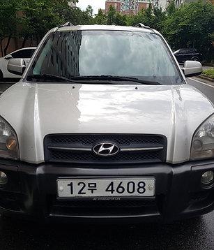 HYUNDAI TUCSON DIESEL 2007- KOREAN USED CAR EXPORTER