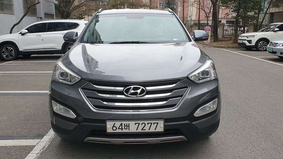 Hyundai Santafe 2015y-2WD-diesel
